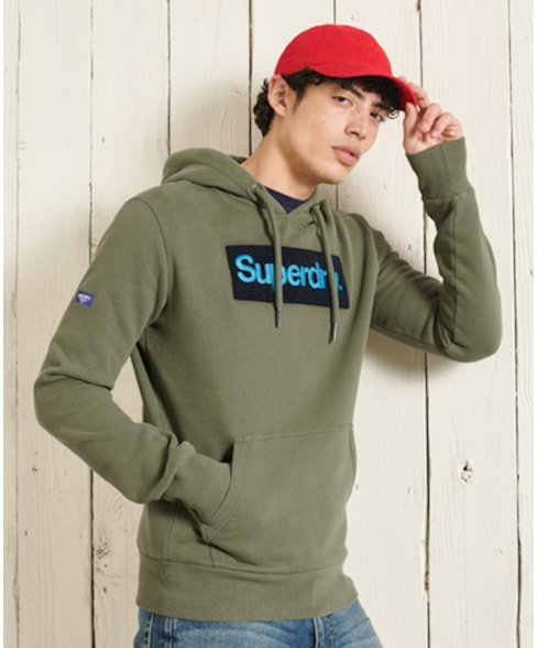 M2011146A | Superdry Core Logo Workwear Hoodie