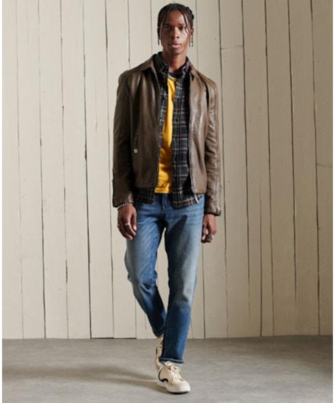 M7010115A | Aanpassende jeans met rechte pijpen