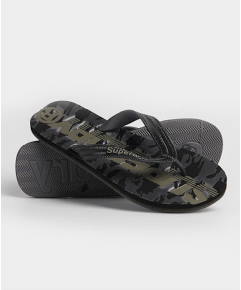 MF310003A | Superdry Scuba teenslippers met camouflageprint