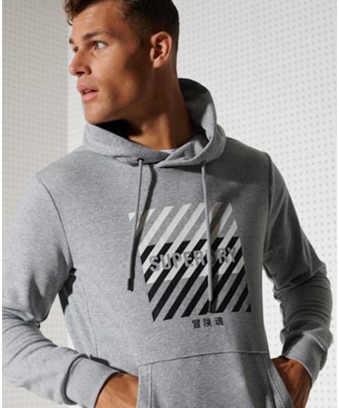 MS310169A | Superdry Training Sport hoodie
