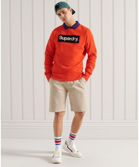 M2011150A | Superdry Core Logo Workwear sweatshirt met ronde hals