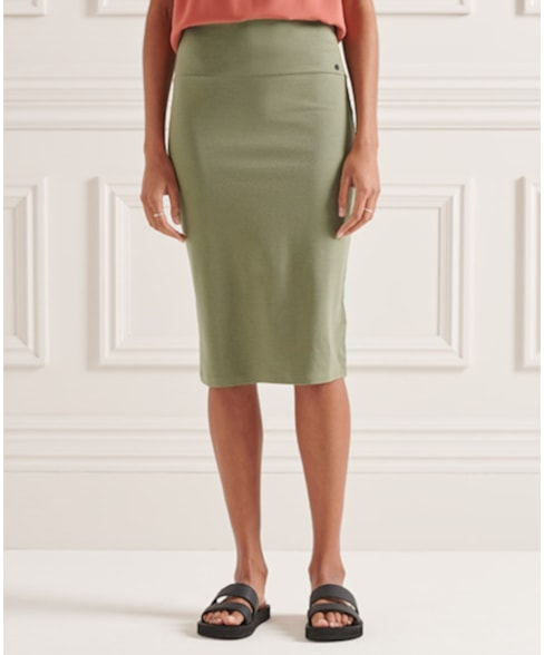 W7210123A | Superdry Classic Jersey Midi Skirt