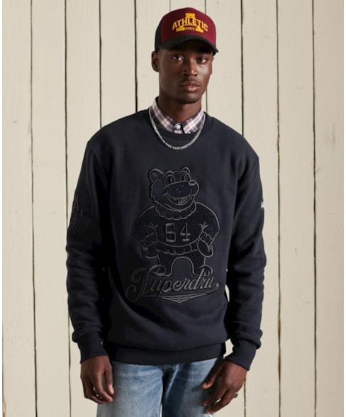 M2011477A   Collegiate sweatshirt met ronde hals