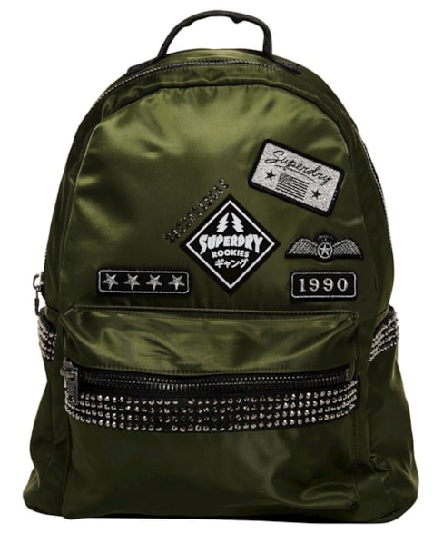 G91099NQ | Superdry Midi Patched Backpack