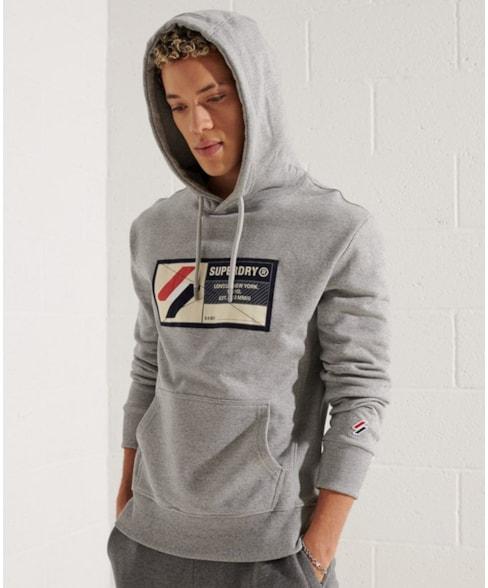 M2011172A | Superdry Sport Jock Tag hoodie