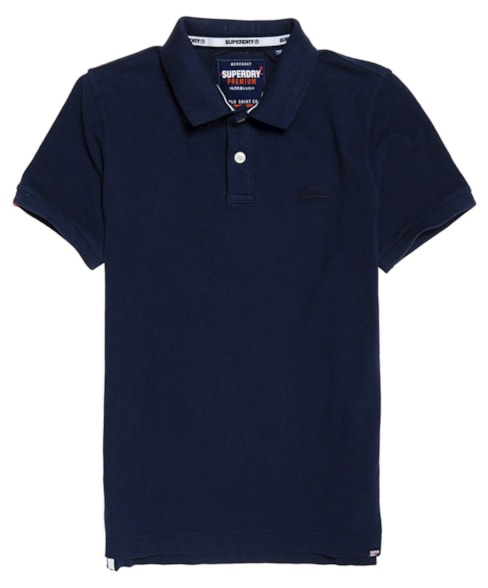 M11017RT | Superdry Vintage Destroyed Polo Shirt