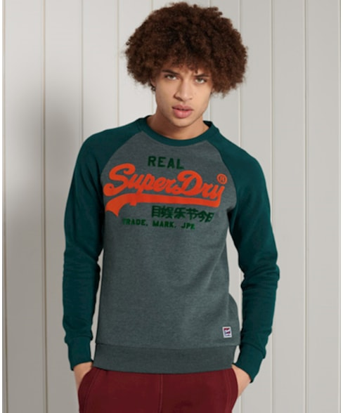 M2011140A | VL DUO RAGLAN CREW SWEAT