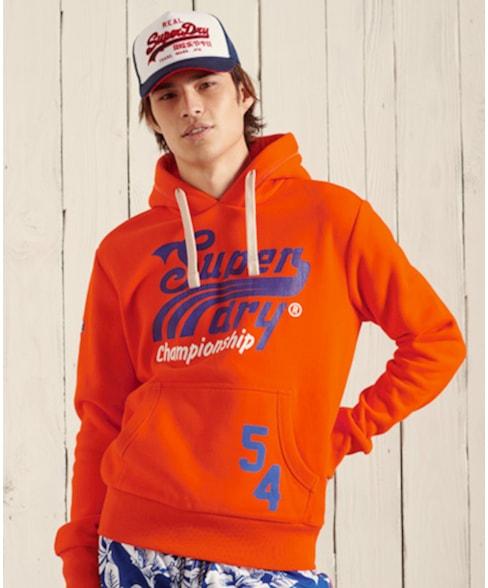 M2010972A | Superdry Collegiate hoodie voor over het hoofd met print
