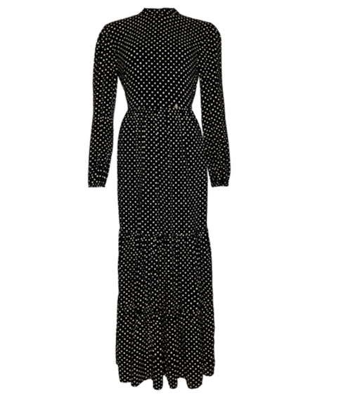 W8010355A | Skylar maxi-jurk