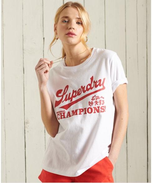 W1010421A | Superdry Collegiate Cali State T-shirt