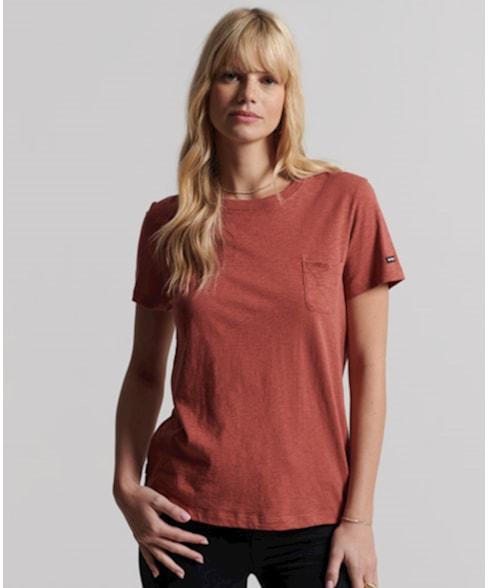 W1010738A   Studios T-shirt met borstzak