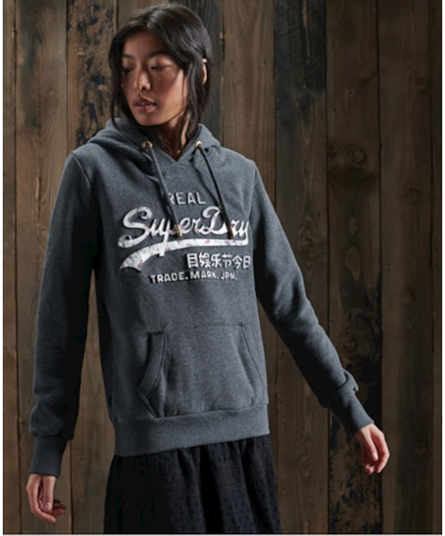 W2010411A | Vintage Logo Infill hoodie