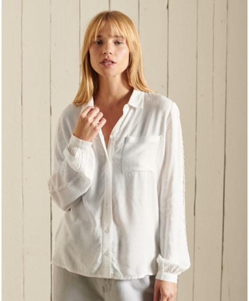 W4010233A | Kanten overhemd