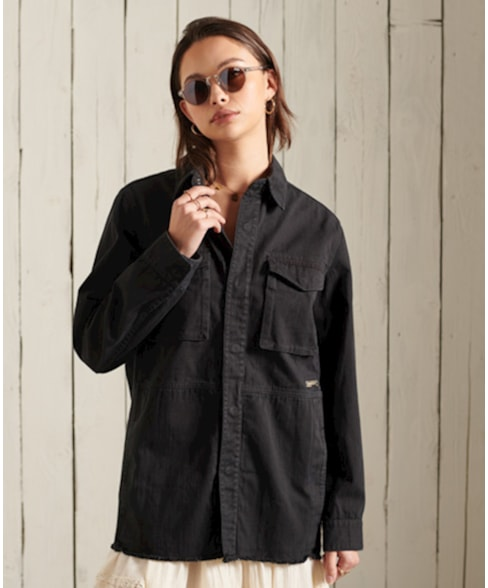 W5010690A | Crafted shacket