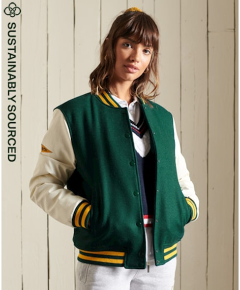 W5011042A   College Varsity jacket