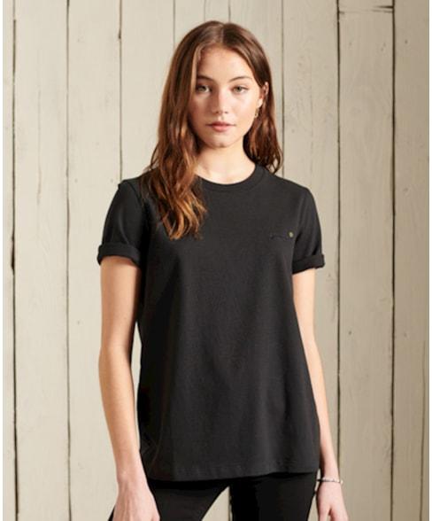 W6010455A | Superdry T-shirt van biologisch katoen