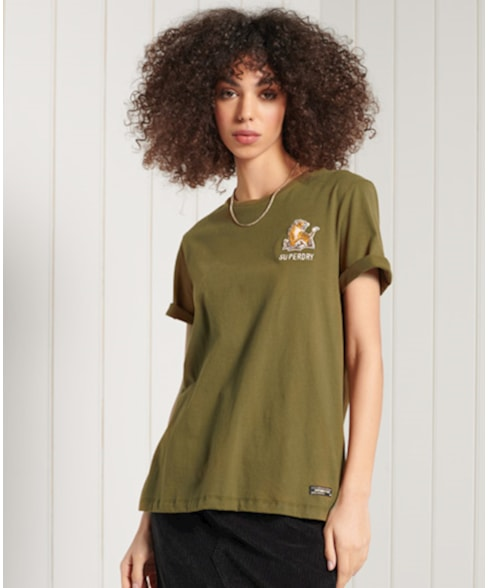 W6010969A | Superdry Military Narrative T-shirt
