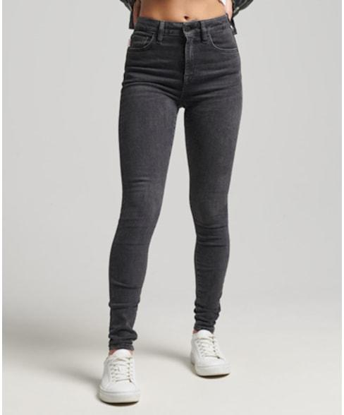 W7010644A | Skinny jeans met hoge taille
