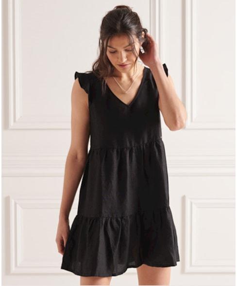 W8010108A | SD TINSLEY TIERED DRESS