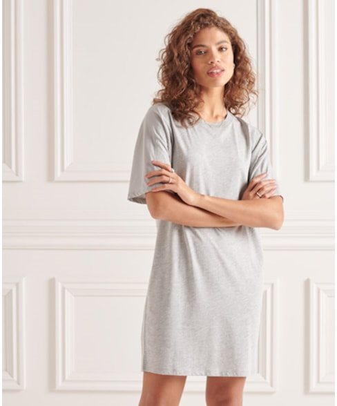 W8010644A | Superdry Cotton Modal Tshirt Dress