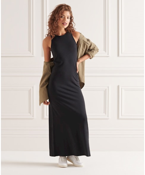 W8010666A | Superdry Jersey Maxi Dress