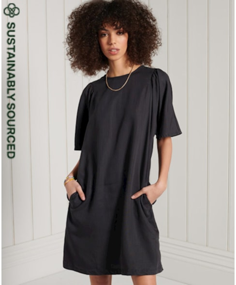 W8010722A | Superdry Tencel T-shirtjurk