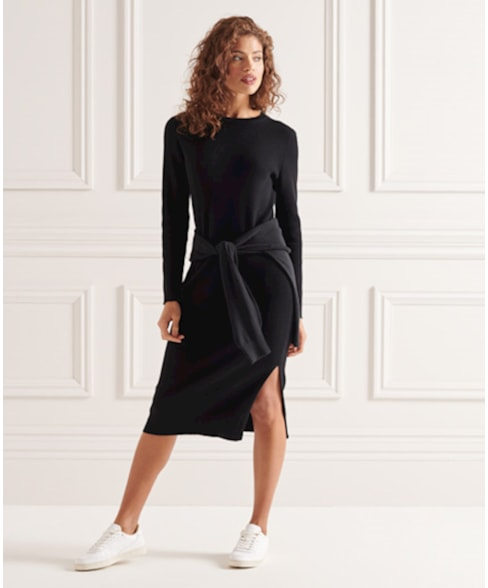 W8010796A | Superdry Studios Knitted Dress