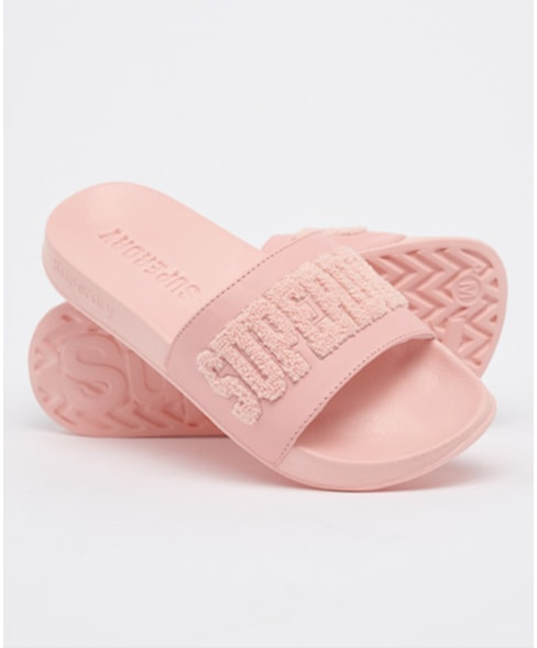 WF310109A | Superdry High Build Logo Pool Slide