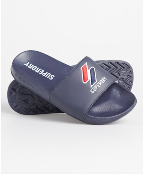 WF310110A | Superdry Core badslippers