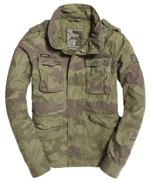 G50903NT | Superdry Delta Soft Camo Rookie Pocket Jacket