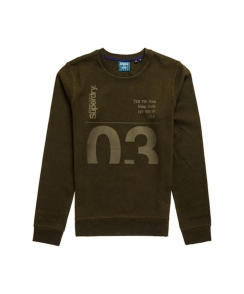 M2010414B | Transit sweatshirt met ronde hals en Core-logo