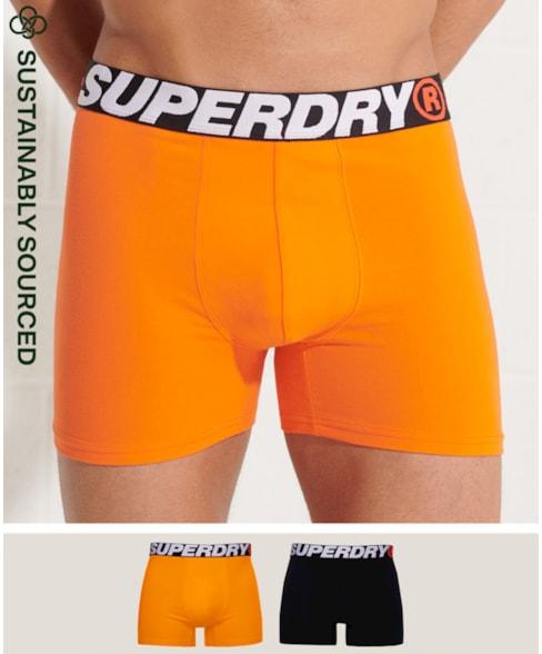 M3110001A | Superdry Duopak boxers van biologisch katoen