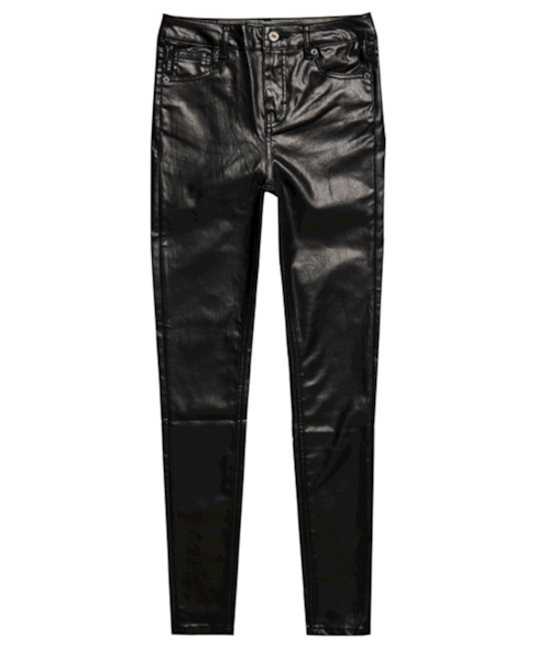 W7010214A | Skinny jeans met hoge taille