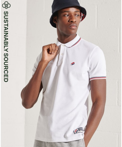 M1110208A | Superdry Sportstyle Twin Tipped polo