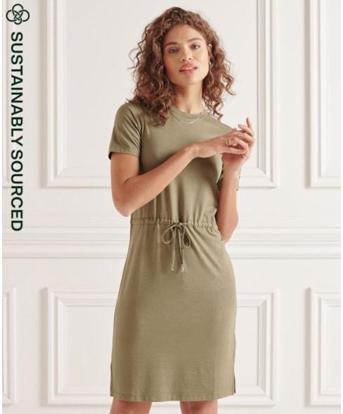 W8010645A | Superdry Drawstring Tshirt Dress